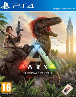Ark Survival Evolved / Juego Físico / Ps4