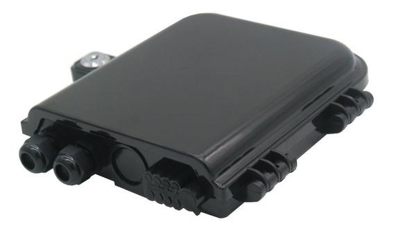 Caixa De Atendimento Óptica (cto) - Ftth 8 Portas + Nfe