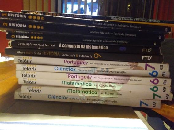 Livros Ed. Ática E Ftd Do 6 Ao 9° Ano.