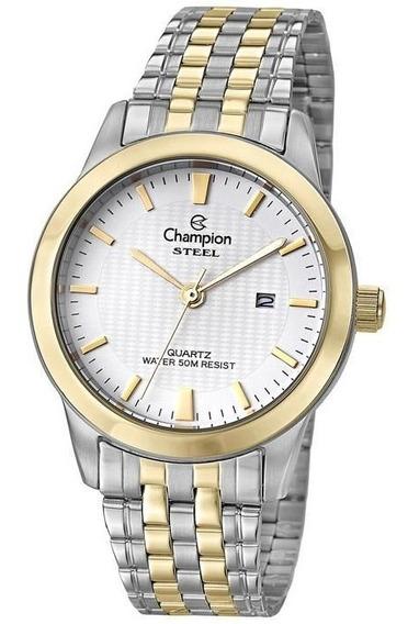 Relógio Champion Masculino Ref: Ca21302b Social Bicolor