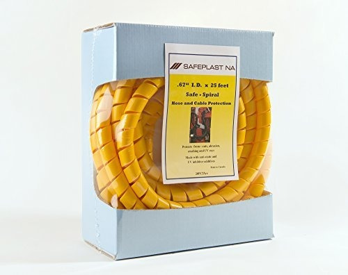 Protector De Manguera De Envoltura Espiral Precortada 34 Od