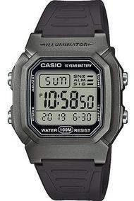Reloj Casio Sport Deportivo W-800hm-7av Gris Cronometro Led