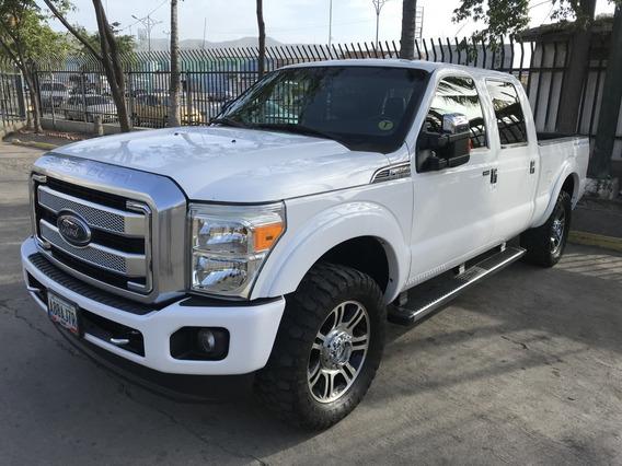 F250 Platinum 2012
