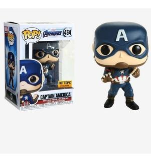 Funko Pop | Avengers Endgame Capitan América 464 (hot Topic