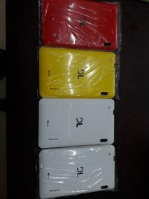 Tampa Traseira Tablet Dl E-color Plus Tp257 (4 Peças)