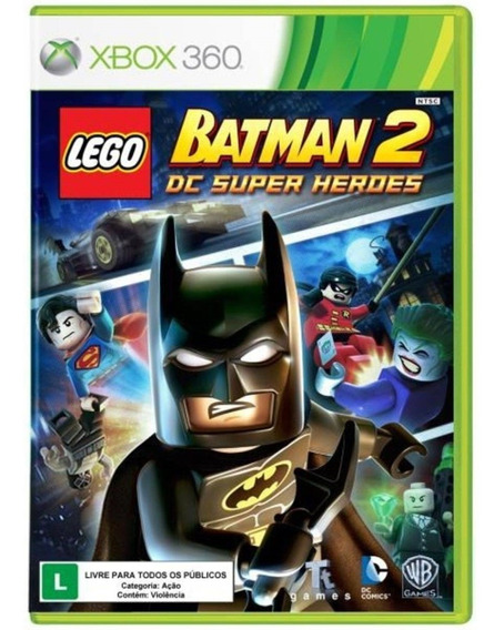 Lego Batman 2 Xbox 360 | Mídia Física Sem Caixinha