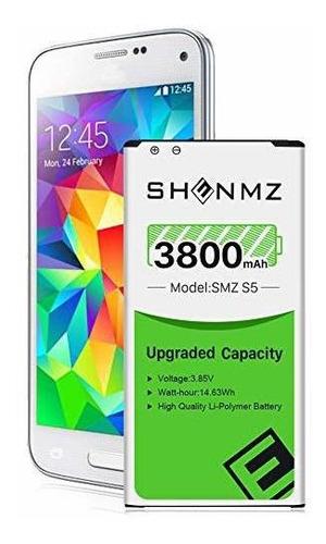Bateria Galaxy S5, 3800 Mah [mejorada] Bateria De Repuesto D