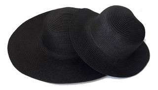 8 Chapéu De Praia Tal Mãe Tal Filha Para Customizar 4 Pares
