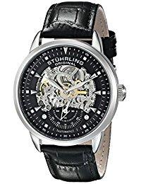 Reloj Stuhrling Original Con Correa De Cuero Para Hombre