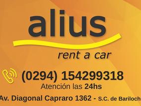 Alquiler De Autos En Bariloche!! ---alius Rent A Car---