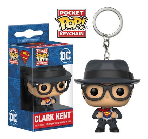 Funko Pop Keychain Clark Kent Superman Dc Comics