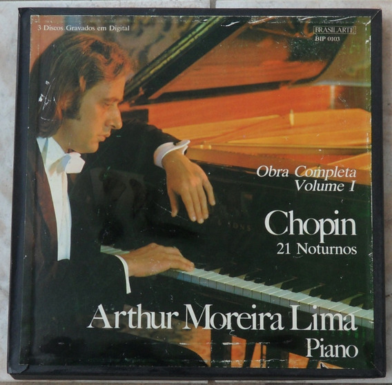 Arthur Moreia Lima-caixa 4 Lps 1982/1983(colecionador-mg)