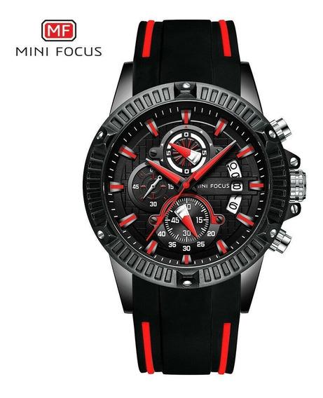 Mini Focus Relógio Masculino Esportivo Borracha
