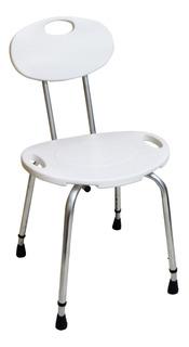 Cadeira De Banho Com Encosto Banqueta P/ Idosos Deficientes