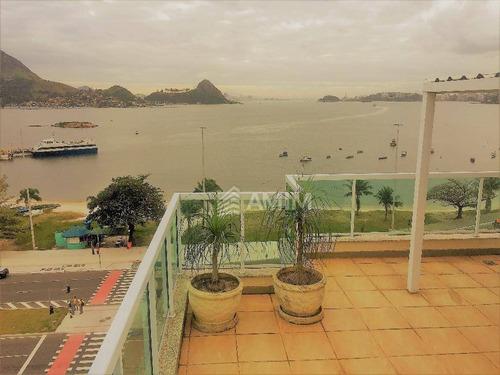 Cobertura À Venda, 125 M² Por R$ 980.000,00 - Charitas - Niterói/rj - Co0073