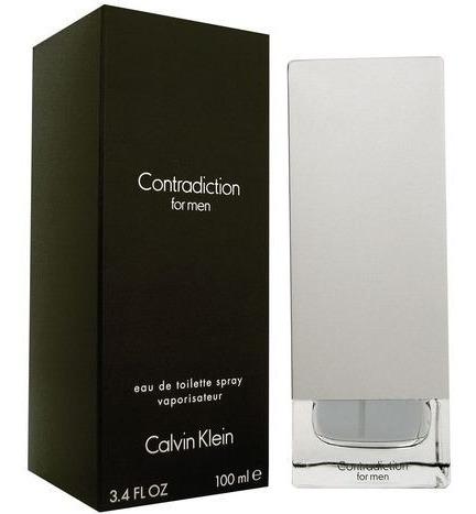 Perfume Contradiction Calvin Klein Masculino Edt 100ml Origi
