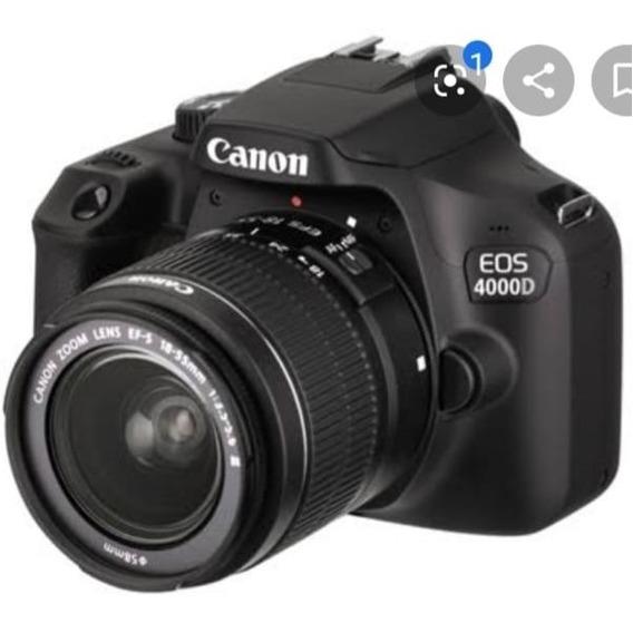 Câmera Canon Eos 4000d
