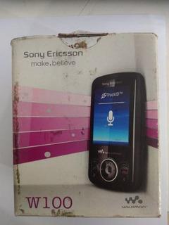 Celular Sony Ericsson Walkman Caixa E Manual (tim) Perfeito