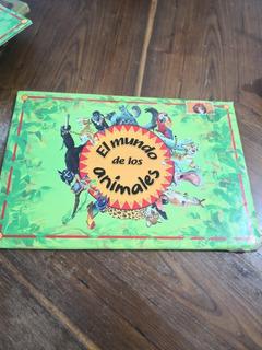Cuento El Mundo De Los Animales Tormont 1992, 4 Libros