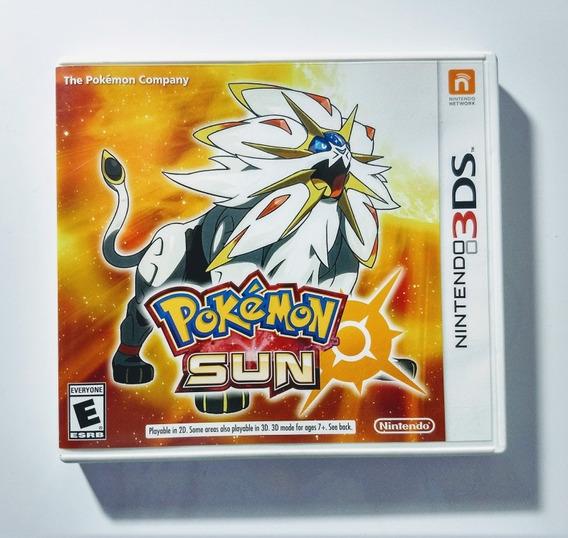 Pokemon Sun Para 2ds, 3ds E New 3ds - Completo Americana !!