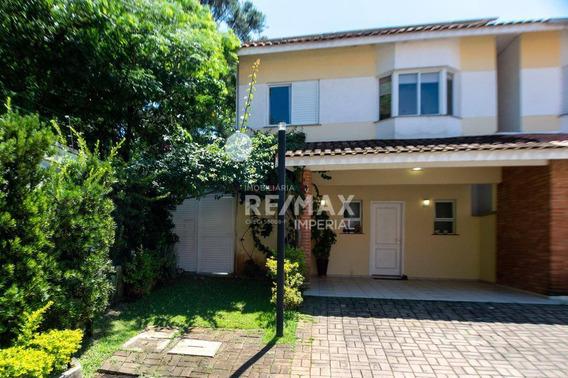 Casa Com 4 Quartos, Área Gourmet, Condomínio Quinta Da Aldeia - Cotia/sp - Ca3663