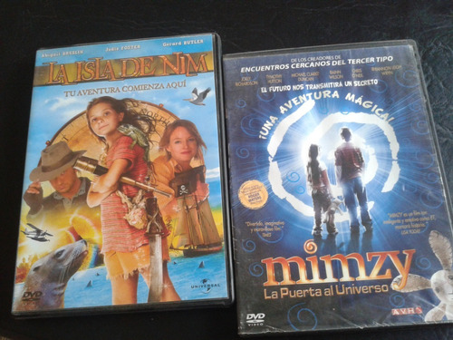Coleccion-aventuras-la Isla De Nim-mimzy-dvd-2007