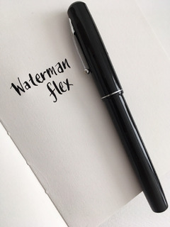Pluma Fuente Waterman Flexible