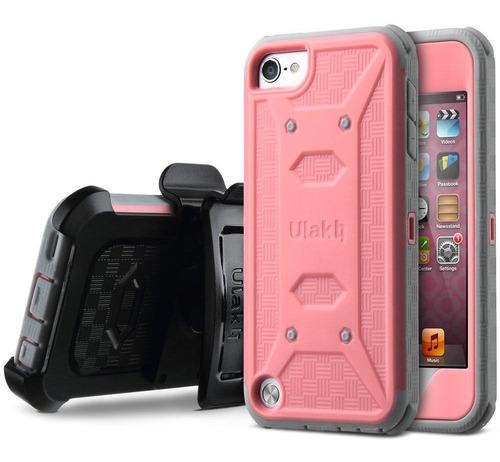 Imagen 1 de 7 de iPod Touch 5/6 Funda Impacto  Sujetador Y Clip+envio Gratis