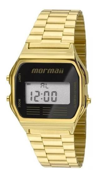 Relógio Mormaii Digital Feminino Quadrado Mojh02ab4p