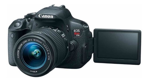 Câmera Fotográfica Canon Rebel T5i