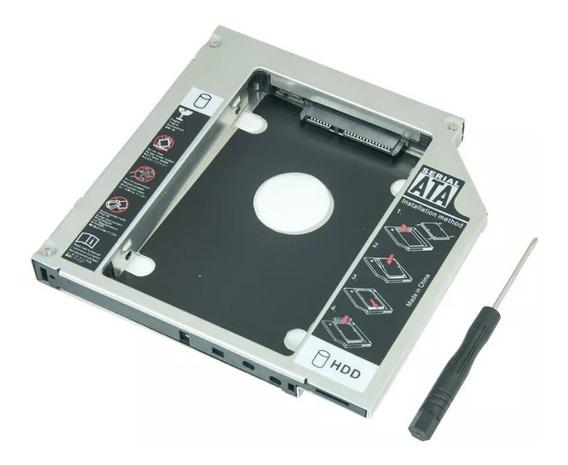 Adaptador Caddy 9,5mm Segundo Hd Ssd Sata Notebook Samsung