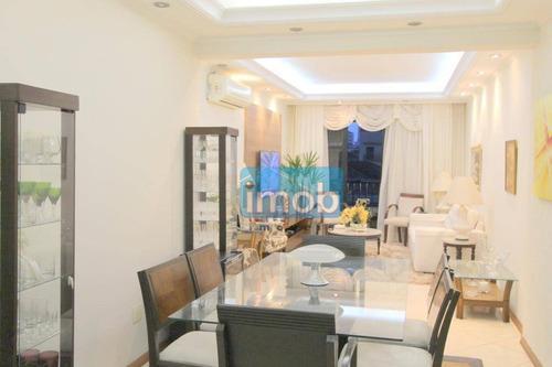 Imagem 1 de 30 de Apartamento À Venda, 137 M² Por R$ 860.000,00 - Embaré - Santos/sp - Ap6966