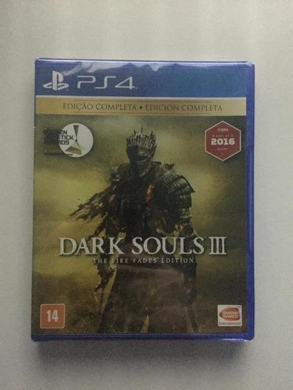 Dark Souls 3 - The Fire Fades Edition Ps4