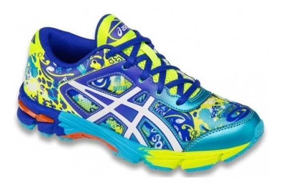 Tênis Asics Gel Noosa Tri 11 Gs - Flash Yellow/white/scuba B