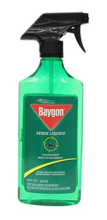 Insecticida Baygon Verde Spray 500 Ml Bayer Jonson