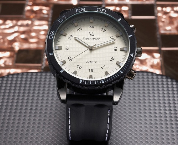 Relógio Masculino V6 Grande Esportivo Últimas Unidades