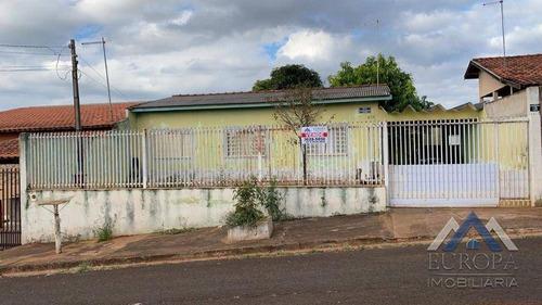 Imagem 1 de 12 de Casa Com 3 Dormitórios À Venda, 100 M² Por R$ 175.000,00 - Jardim Paris - Londrina/pr - Ca0731