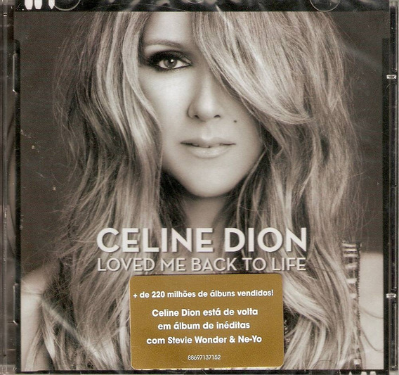 Cd Celine Dion - Loved Me Back To Life - Novo***