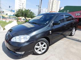 Toyota Corolla 1.8 16v Xli 2008 Preto Flex 4p