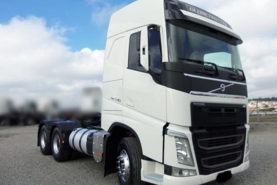 Volvo Fh 540 6x4 2016 Com Parcelas