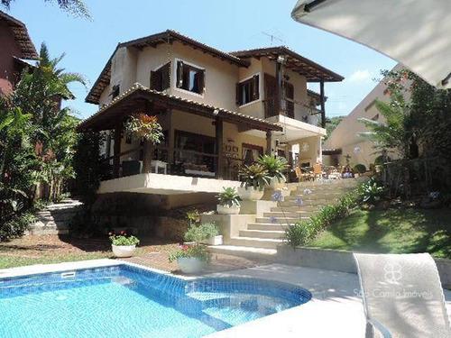 Imagem 1 de 30 de Casa Com 4 Dormitórios À Venda, 248 M² Por R$ 1.600.000,00 - Granja Viana - Carapicuíba/sp - Ca0772
