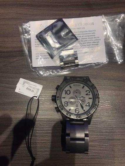 Relógio Nixon Cinza Chumbo (original)comprado 505 Dolares