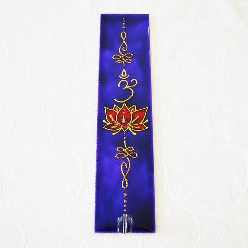 Incensário Retangular Flor De Lotus  *sob Encomenda