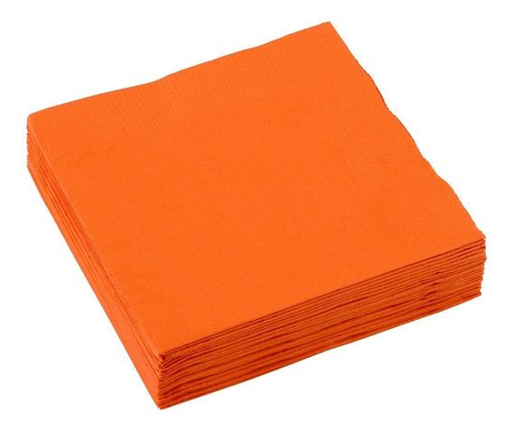 Servilletas De Papel Color Naranja / Orange Peel