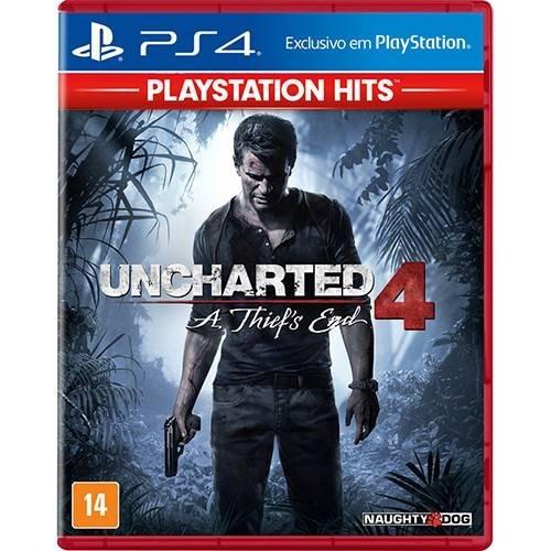 Uncharted 4 A Thiefs End - Ps4 - Original - Mídia Física Br