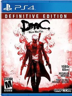 Dmc: Devil May Cry Definitive Edition Ps4 Digital