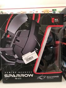 Fone De Ouvido C/ Mic C3tech Gamer Sparrow Ph-g11bk