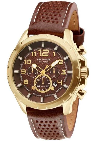 Relógio Technos Masculino Skymaster Cronógrafo Js25bg/0m
