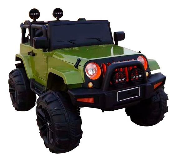 Mini Carro Elétrico Jeep Infantil C/ Controle Remoto 3 Cores
