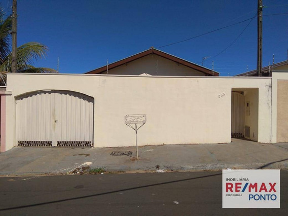 Casa Com 2 Dormitórios Para Alugar, 90 M² Por R$ 920,00/mês - Parque Da Imprensa - Mogi Mirim/sp - Ca0092